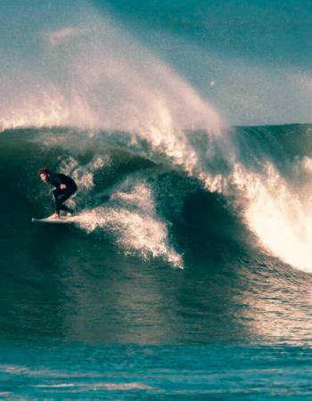 Surfing Croyde Bay